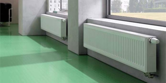 Instalatii cu radiatoare de otel
