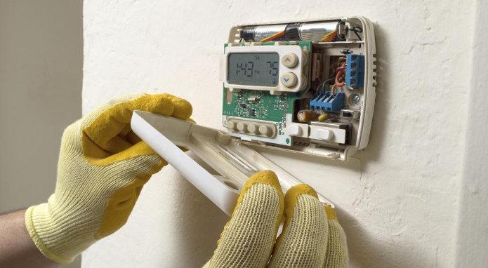 Cum se monteaza termostatul ambiental